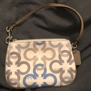 Coach Wristlet with Removable Strap